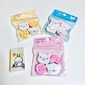 [NEW] Cute Kawaii Erasers